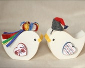 Ukrainian Wedding Korovai Birds Traditional Korovaj Wedding Bread Birds
