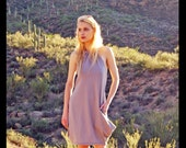 SolinDesigns / Rendezvous Bamboo Jersey Halter Dress / Bohemian Chic for Remarkable People