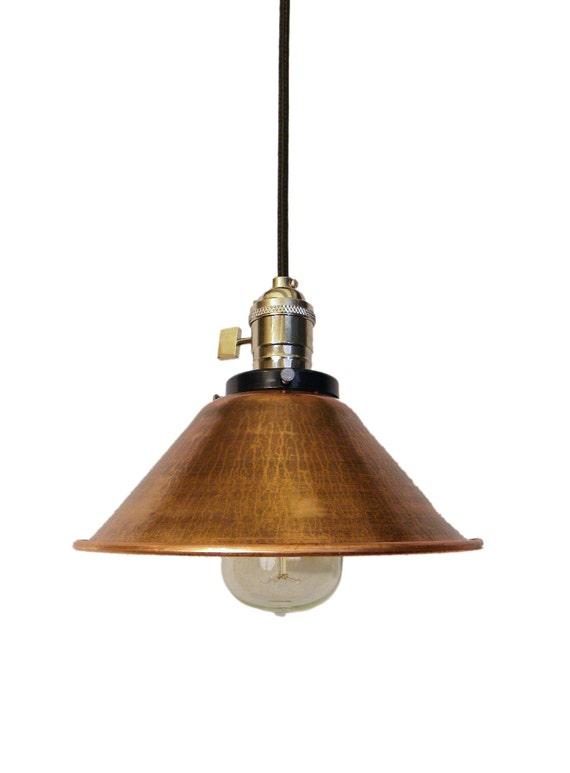 Modern Copper Ring Led Pendant Lighting 10758 Shipping: Copper Cone Shade Pendant Lighting Mix And By HangoutLighting