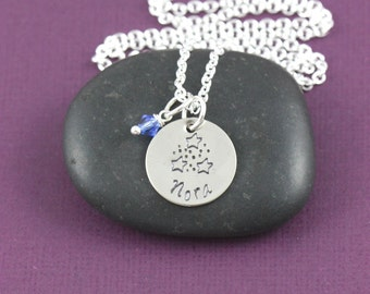 Make A Wish Necklace - Star Necklace - Girls Star Birthday Party Favor - Personalized Name - Youre a Star -Wish Upon a Star-First Day