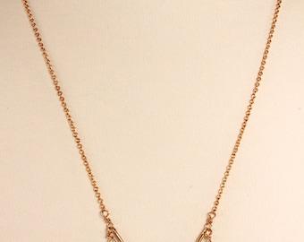 Blue Topaz Necklace, Gold Filled, December Birthstone, Minimalist, Blue Gemstone, Topaz, Dainty Necklace, Layering, Blue Topaz Jewelry