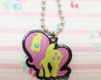 Fluttershy My Little Pony Necklace