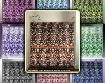 Curtains Ideas batik curtain panels : Curtain batik – Etsy