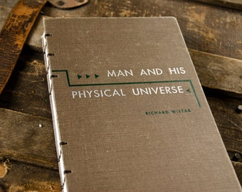 1953 MAN and UNIVERSE Vintage Notebook Journal