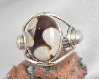 Sterling Jasper Ring