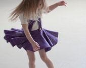 Girls skirt with suspender Pinafores skirt Schoolgirl skirt Toddler skirt Baby skirt