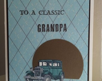 To a Classic Grandpa Father's Day Card