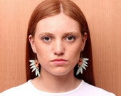 CEREJEIRA leather earrings