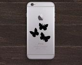Butterflies Vinyl iPhone Decal BAS-0118