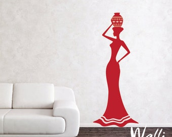 African woman wall decor for home decoration