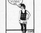 Art Punk Patches Punk Patch Print Humor Funny Silly Cute Punk Metal Emo Goth Riot Grrrl Indie Scene Band Merch Mating Call Small Cloth Patch