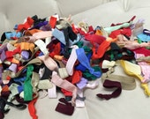 1000 Solid hairties : Such A Deal Collection of ribbon elastic hair ties, Grab bag of hair ties