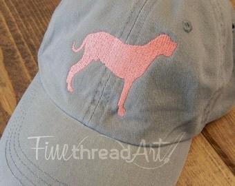 LADIES Dog Baseball Cap Hat FABRIC strap 40 Breeds Labrador Dachshund Weimaraner Schnauzer Chihuahua Shih Tzu Spaniel Terrier Poodle Yorkie