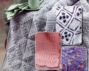 AFGHANS On A ROLL Annie's Attic Crochet on a Roll - Roll Stitch Crochet