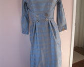1950's Jeanne D'Arc Dress,  Asian Influence