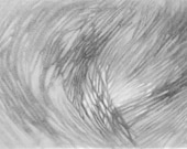 Black and white ethereal abstract art Giclee Print on Paper