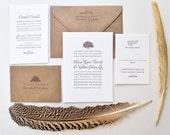 Olivia Wedding Collection Invitation Suite
