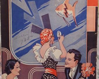 1935 In A Little Gypsy Tea Room Edgar Leslie Joe Burke Song Book Sheet Music