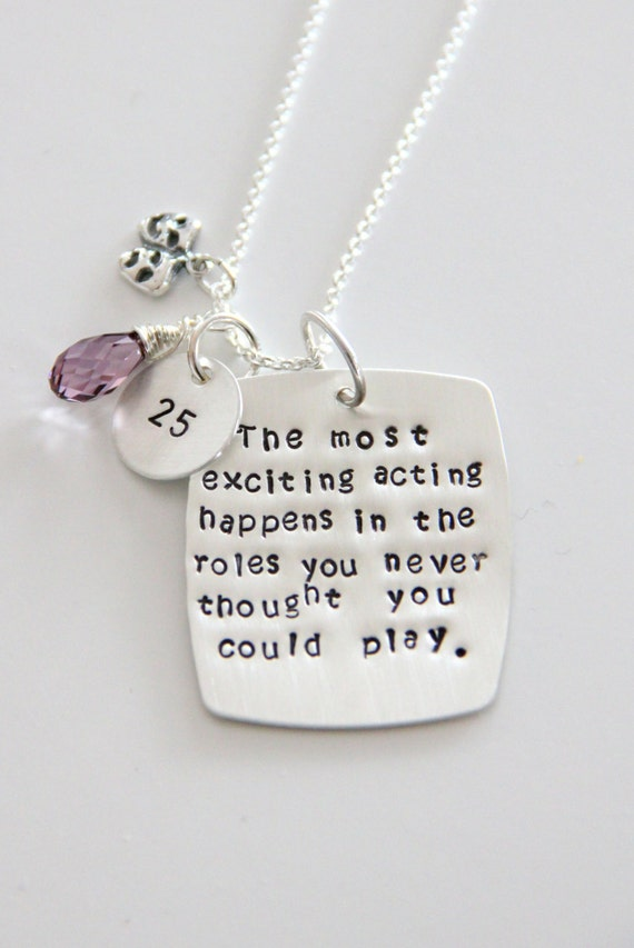 Gift For Drama Teacher - Theater Gifts - Gift For actress - Acting Teacher-  Comedy Tradegy Necklace - Gift For Actress Musician
