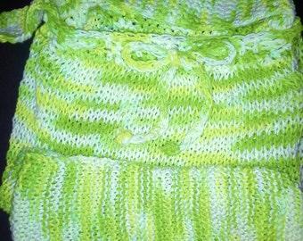 Shopping Bag, Cotton Market Bag, Green Shopping Bag, Green Grocery Bag, Grocery Bag