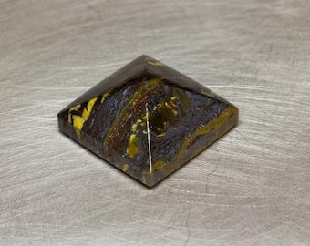 Tiger Iron -- 11.44ct Pyramid Cabochon