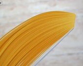 """Peach paper strips //  Paper Quilling Strips //  PEACH // 100 STRIPS // 2 mm wide //  297 mm 11,7"""" long"""