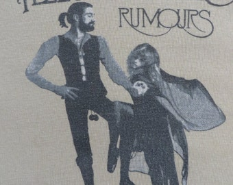 FLEETWOOD MAC 1977 tour T SHIRT