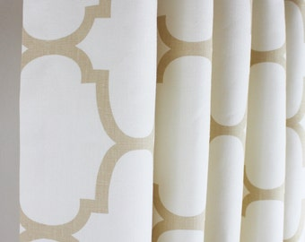 Windsor Smith Riad Custom Grommet Drapes (Comes in several Colors)
