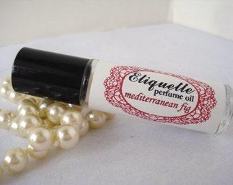 Mediterranean Fig Perfume Oil 10 ml Roll On Fragrance sophisticated scent apricot rose oakmoss women's scented oil glass