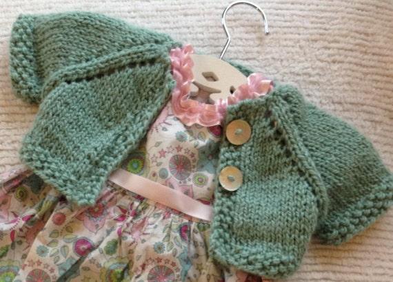 Bebeknits Sweet Summer Time Baby Cardigan Knitting Pattern ...