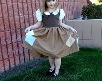 Snow White Rags Dress Disney Princess Size 5 Costume