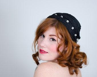 50% OFF SALE / 1950s vintage hat / toque / Cooney