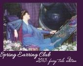 The Honey&Ollie Spring 2015 Earring Club – Tea and Fairy Tales