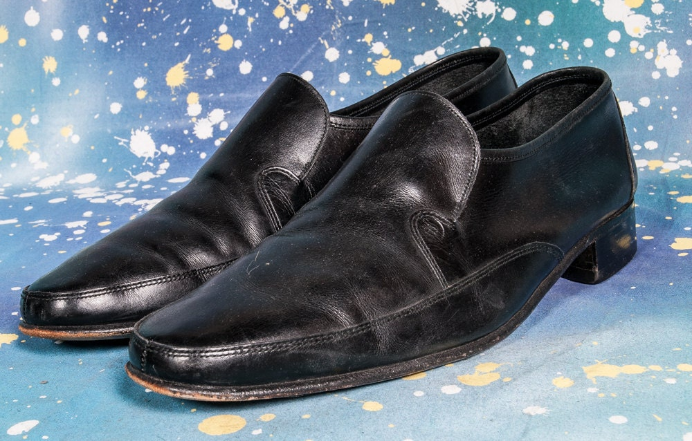 bally shoes black loafer s size 10 5m
