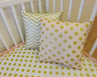 ADD an ACCENT PILLOW- Straight Edge Accent Pillow