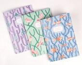 Sketchbook / Notebook x 3 Pack - 'Wild Ideas'