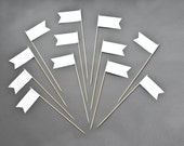 Blank Large Flags - Food Signs - Flower Decor - Any Occasion