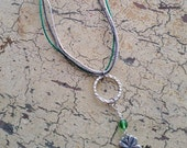 RESERVED for Sarah - St. Patrick's Day Necklace