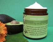 Avocado Butter - ORGANIC - Choose Your Scent - VEGAN - Natural - Skin and Hair Butter - Handmade