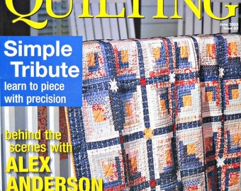 American Patchwork and Quilting, June 2003, Issue 62