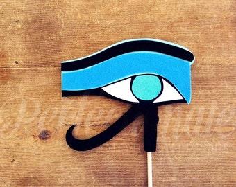 Felt Eye of Horus Egyptian Eye Photo-Booth Prop