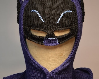 Baby Bat Cowl Knitting pattern