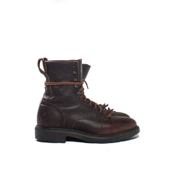 8 D Red Wing Lace Up Boot 931 Lacer Roper Style 8