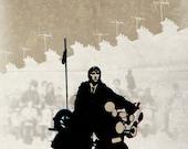"""The Who - Quadrophenia - Retro Movie Poster Pastiche 17 x 11"""" Digital Print"""