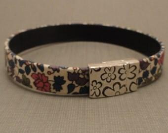 Fabric Flower Bracelet