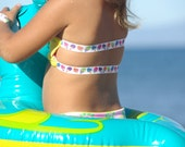 ADELLA: Baby Bikini REVERSIBLE Bandeau TOP create your own couture swimsuit