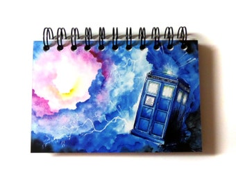 Within the Vortex Journal & Sketchbook - Doctor Who // TARDIS // <3