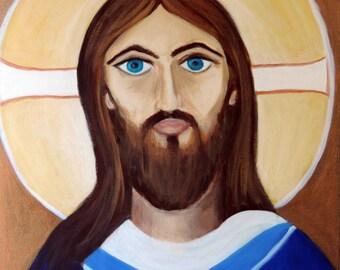 Religious Art; Jesus Paintings, Jesus Christ Art, Painting of Jesus Christ; Jesus Painting;Jesus Christ Pantings