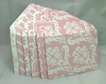 3x4 Pink Blush Envelopes