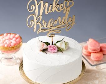Custom cake topper - wedding - Daydream Collection
